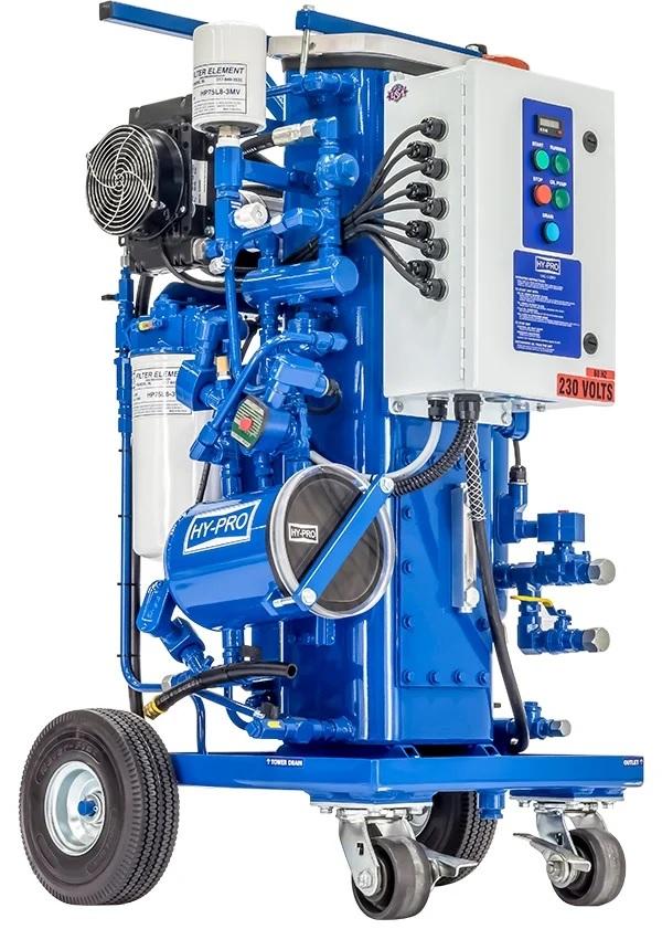 Compact Vacuum Dehydration Unit