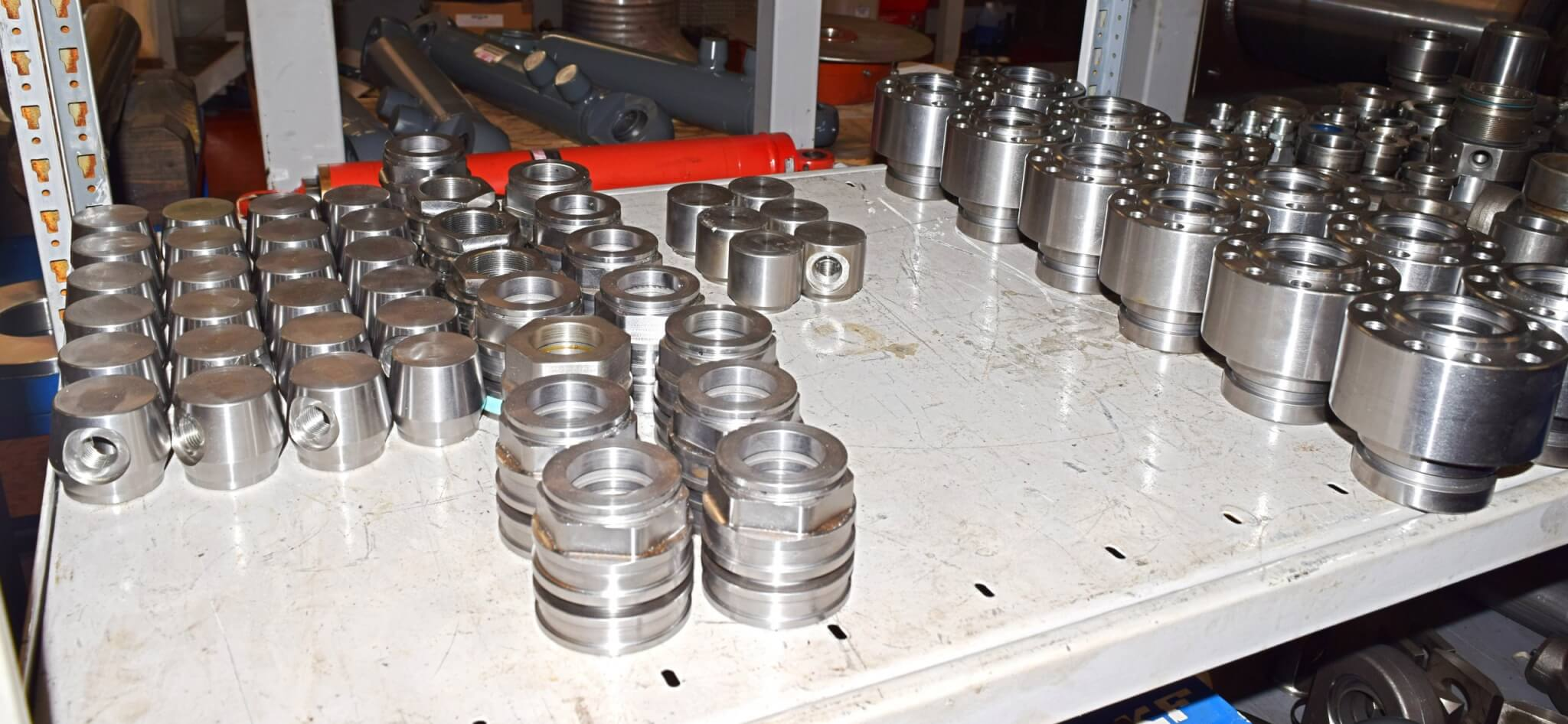 Liebherr machined parts