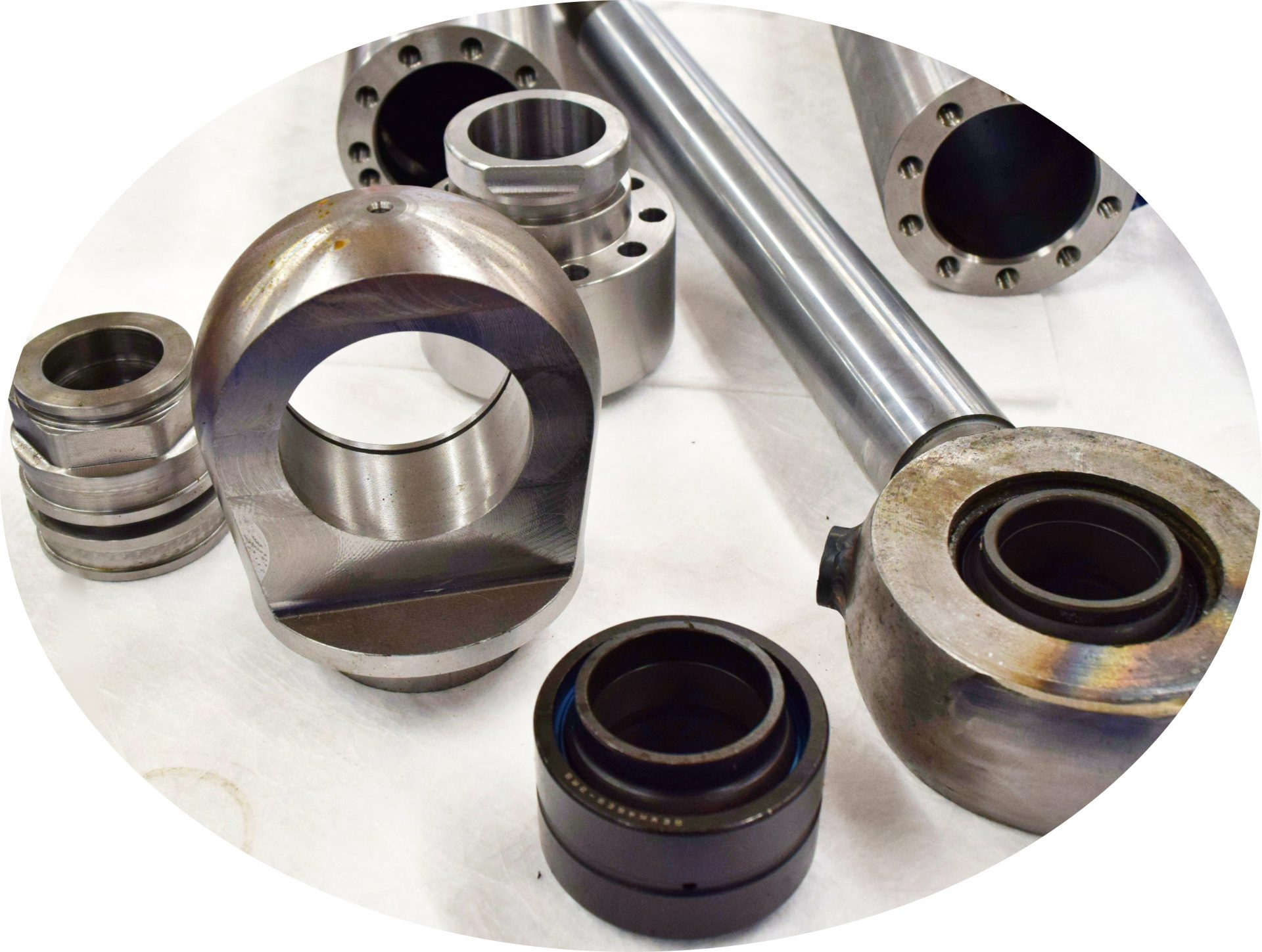 Machined-Cylinder Parts